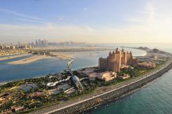 Overhead view of Atlantis the Palm 2