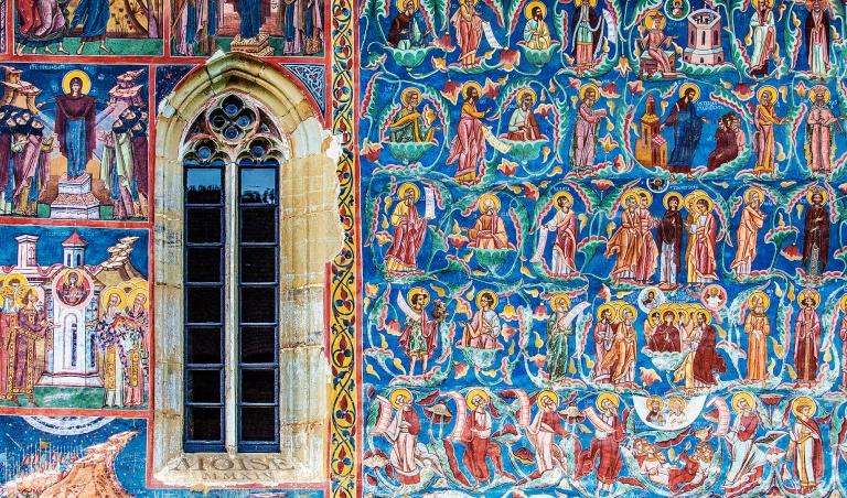 Manastirea_Moldovita,_detaliu_pictura_exterioara